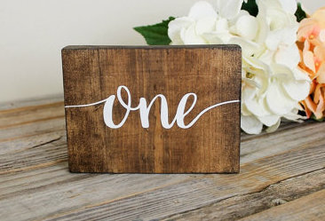 rustic-wood-table-number